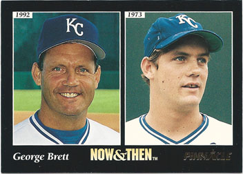 1993 Pinnacle 294 George Brett